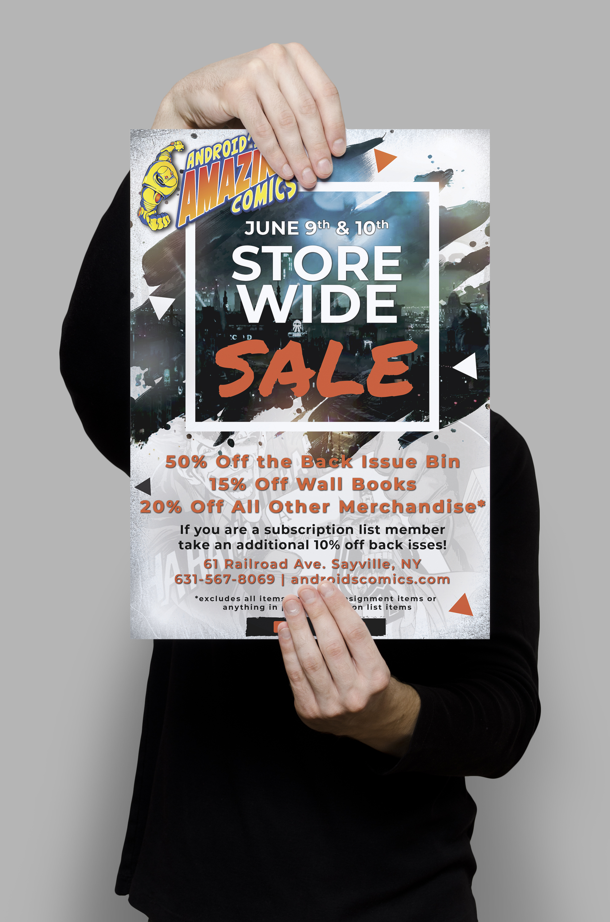 Gotham City Sale Flyer