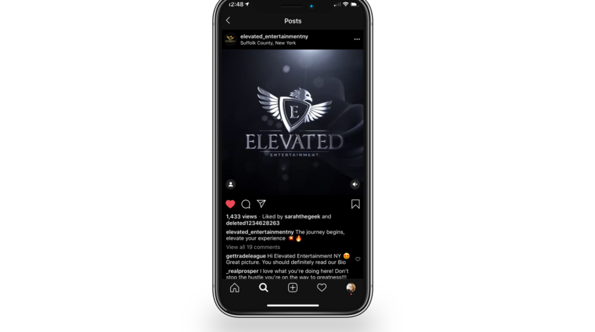 Elevated Entertainment Logo Reveal